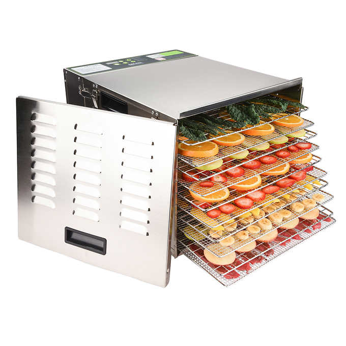 Aroma Professional 10-Tray Collapsible Digital Food Dehydrator