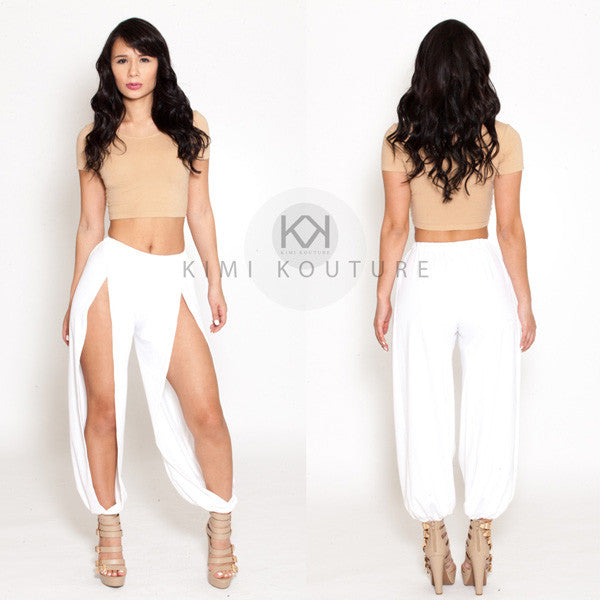 Signature Split Pants