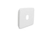 Light Switch Cover - 1 Gang  - White Basic