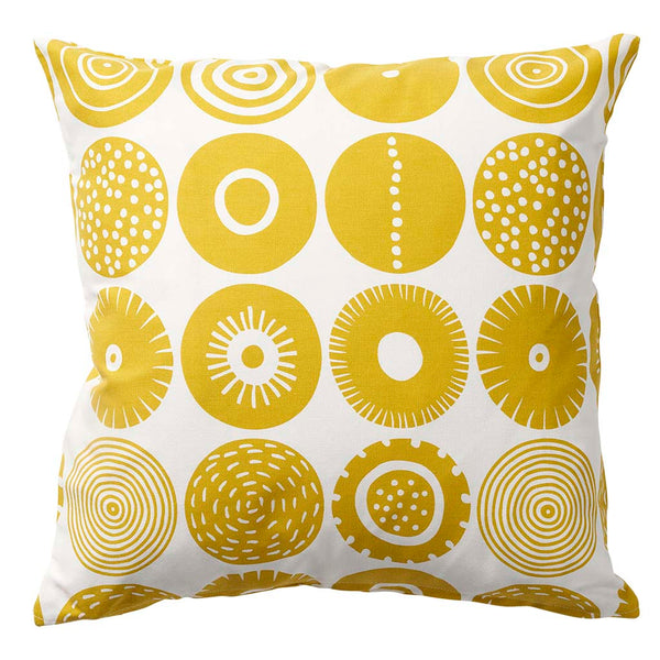 KLIPPAN cushion cover CANDY YELLOW