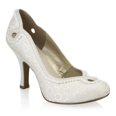 Ruby Shoo Miley Cream 08901