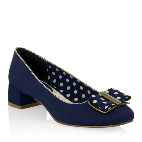 Ruby Shoo June Navy 08905