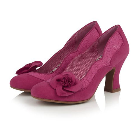 Ruby Shoo Veronica FUSCHIA Court Shoe