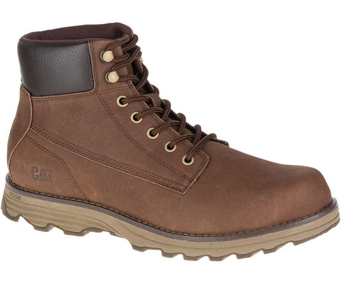 Caterpillar Mens Intake Dark Rum Boot