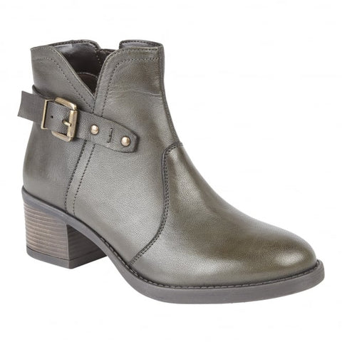Lotus Ankle Boot Tapti OLIVE .