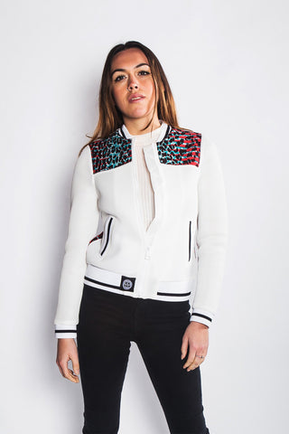 Kantora - Bomber Jacket Netted - Women's