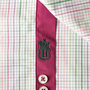H. Halpern Esq. 'Spring Check' Dress Shirt logo