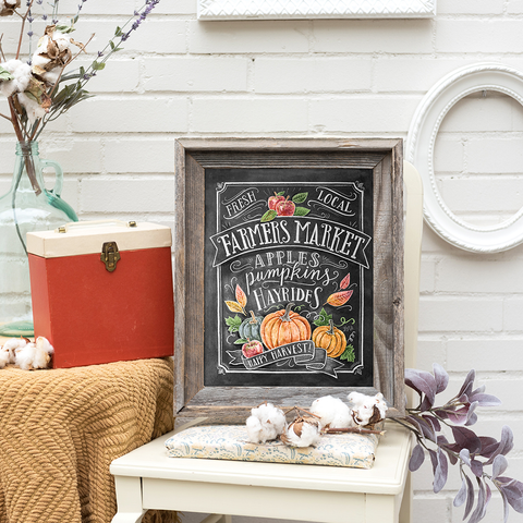 Fall Farmers Market - Print & Canvas