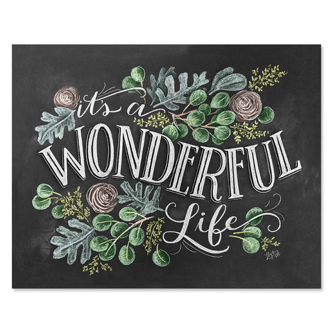 It's A Wonderful Life - Print & Canvas