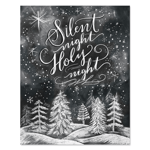 Silent Night, Holy Night - Print & Canvas