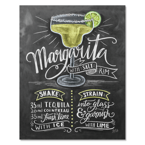 Margarita Recipe - Print