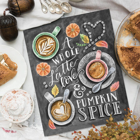 A Whole Latte Love - Print & Canvas