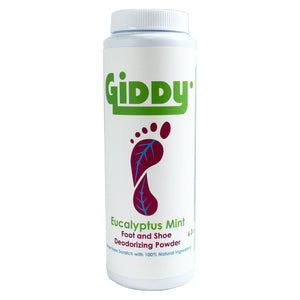 GIDDY Eucalyptus Mint Natural Foot Deodorizer - Giddy - All Natural Skin Care