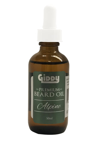 Alpine Premium Beard Oil - Giddy - All Natural Skin Care