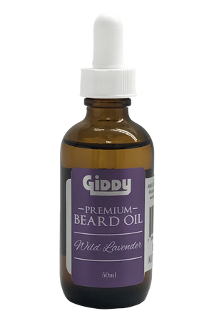 Wild Lavender Premium Beard Oil - Giddy - All Natural Skin Care