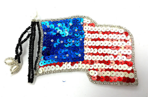 "United States Flag med 4"" X 3"""