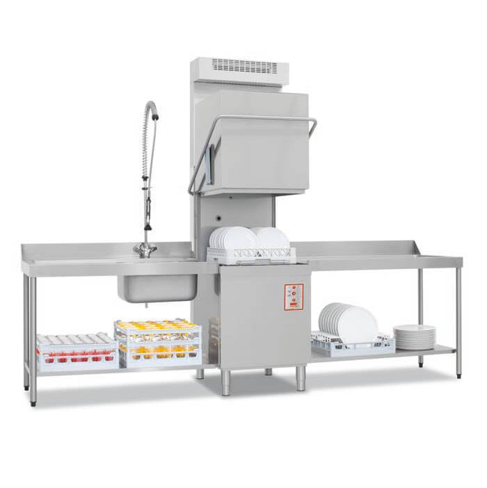 The IM20 Upright w/condenser Commercial Dishwasher