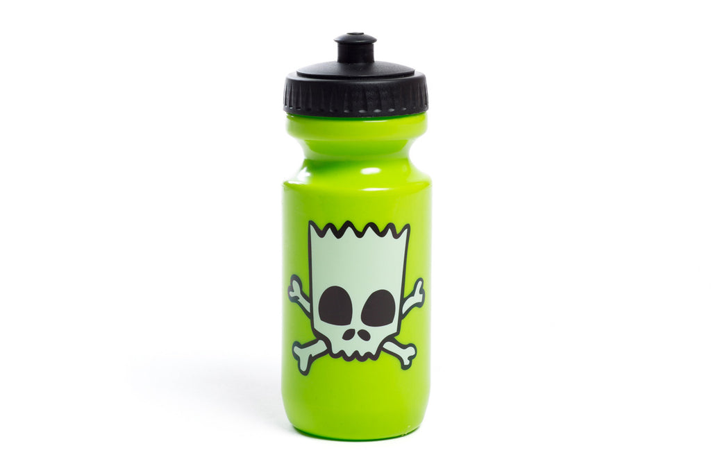The Simpsons X State Bicycle Co. - Skull & Cross Bart Bottle