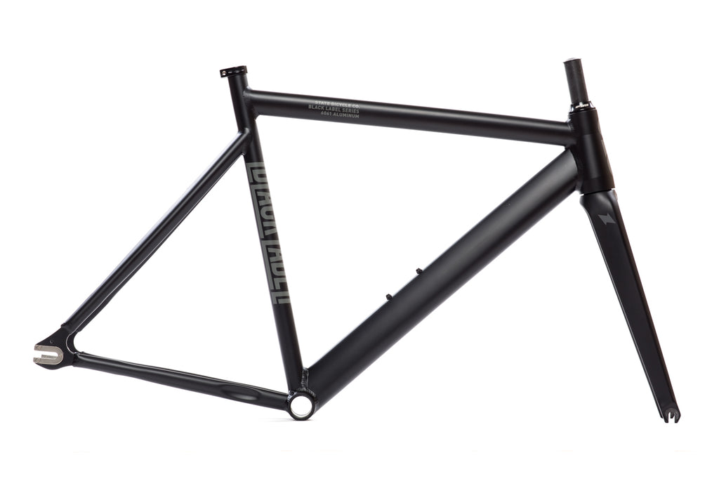 6061 Black Label v2 - Frame Set - Matte Black