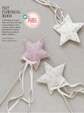 Flower Girl Star Wand