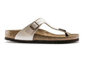 Birkenstock Gizeh in Graceful Pearl White outer view