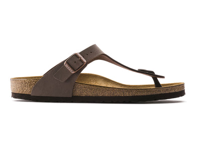 Birkenstock Gizeh in Mocca outer view