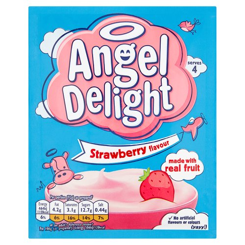 Birds Angel Delight Strawberry