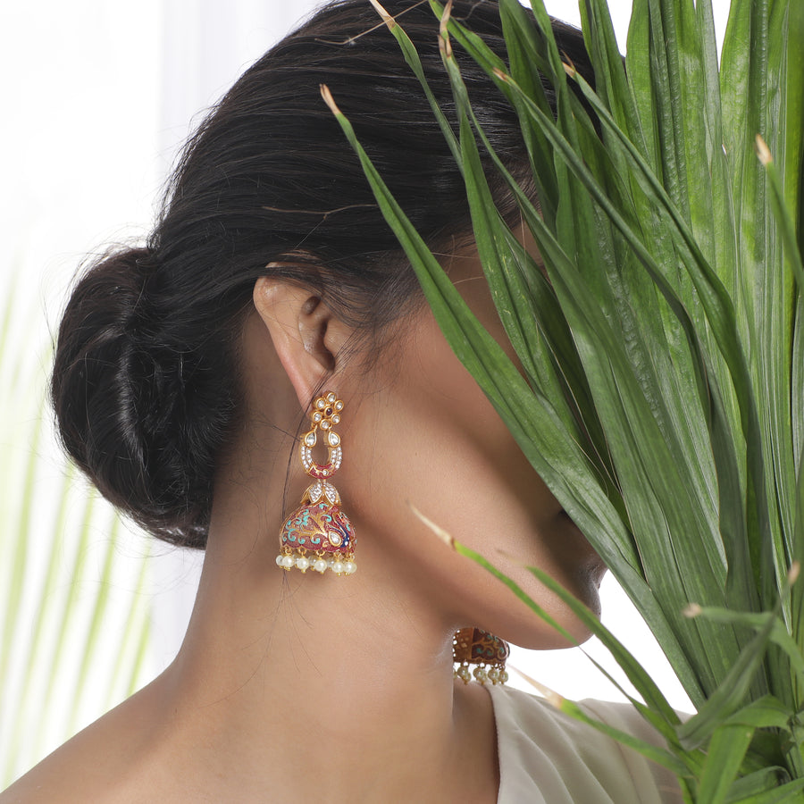 Canisa Jhumka Earrings