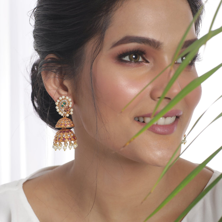 Nadira Jhumka Earrings