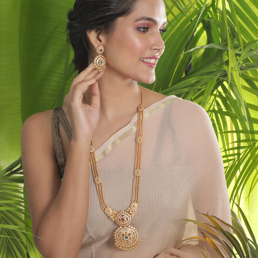 Binal Long Necklace Set
