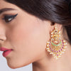 Motiya Chandbali Earrings