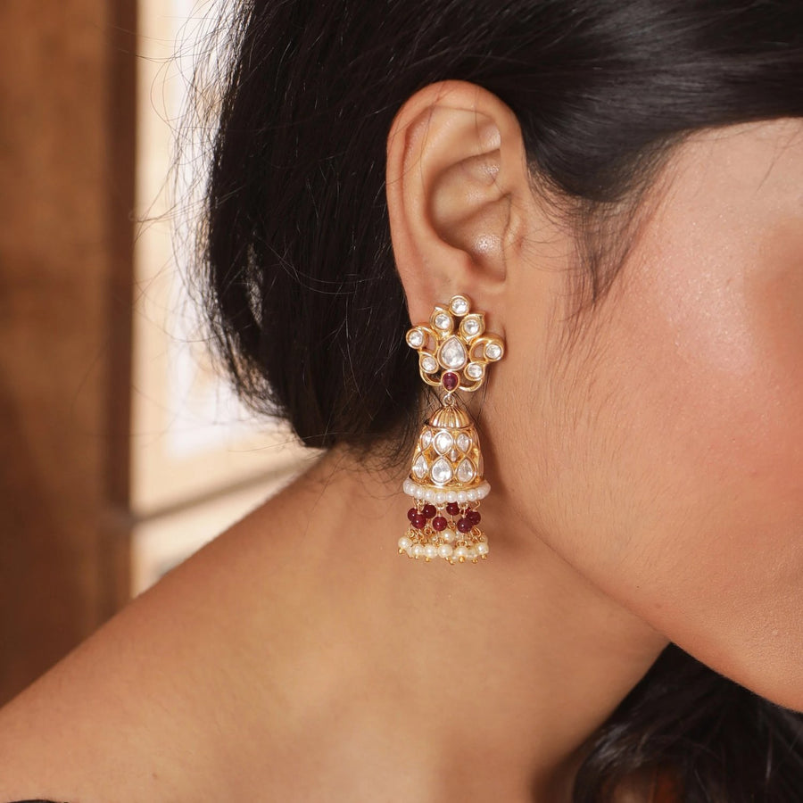 Aakriti Jhumka Earrings