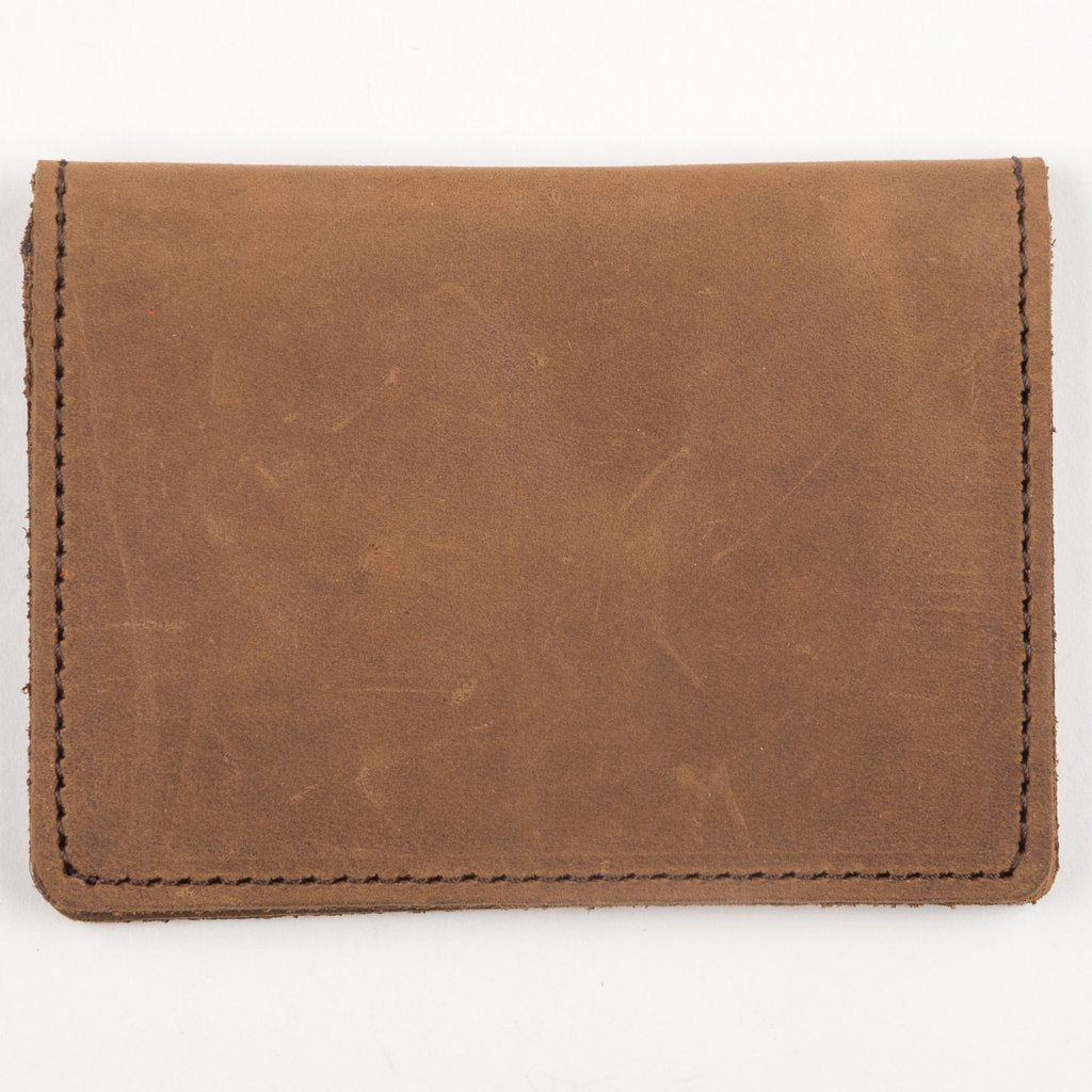 Brown Leather Slim Card Case