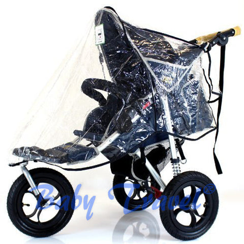 3 Wheeler Raincover For Cosatto Venture Stroller