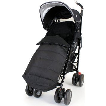 Large Footmuff To Fit Mothercare Strollers, Cosatto Pram, Bruin Buggy - Baby Travel UK  - 1