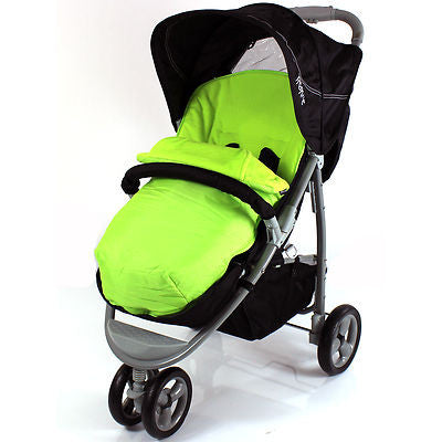 Footmuff For Petite Star Zia X Obaby Edge Zoma Stroller 3 Wheeler Universal