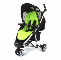 Deluxe 2 In 1 Footmuff For Quinny Zapp - Lime - Baby Travel UK  - 2