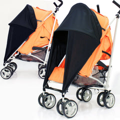 Baby Travel Sunny Sail Fits Silver Cross Freeway Pop Sleepover 3d Pram System - Baby Travel UK  - 2