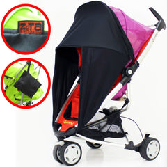 Baby Travel Sunny Sail Fits Silver Cross Freeway Pop Sleepover 3d Pram System - Baby Travel UK  - 4