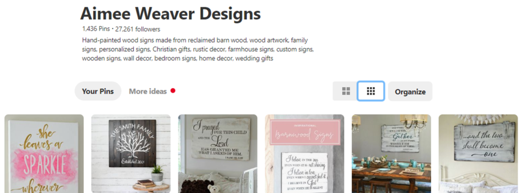 My favorite Pinterest boards