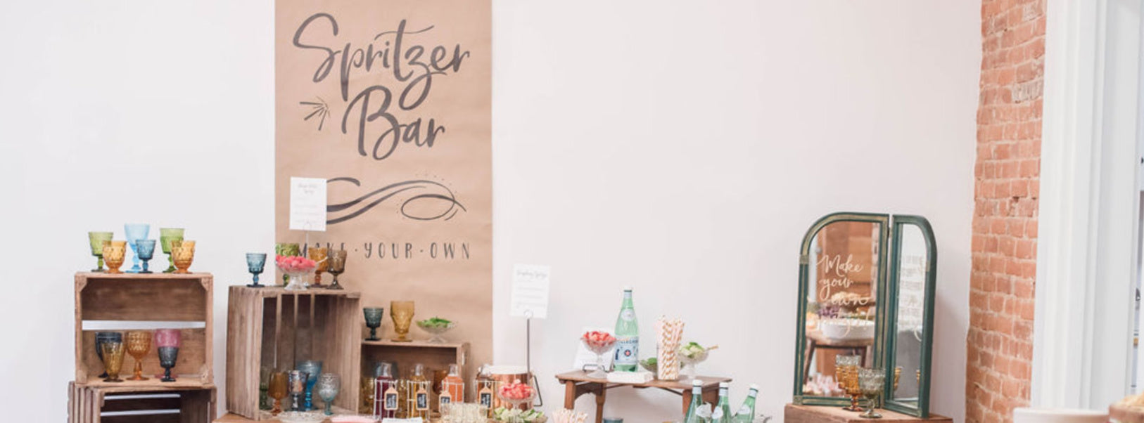 DIY Spritzer Bar For A Party