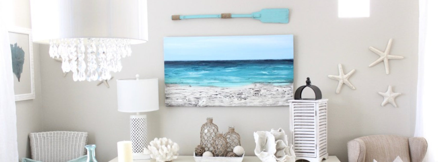 4 ways to add a beach feel to your home