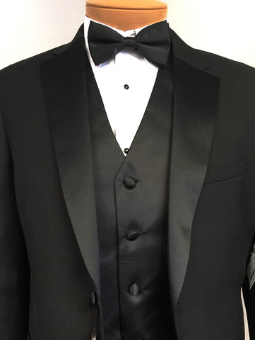 The $179 Tuxedo Package (Includes Shirt & Vest Set)