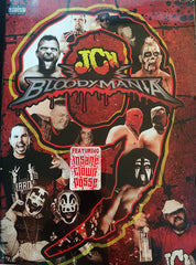 Autographed BloodyMania 9 DVD! Matt Hardy Insane Clown Posse MVP Chris Hero! KG On Commentary