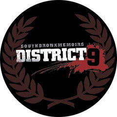 District 9 Circular Sticker