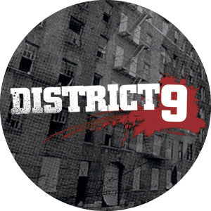 "District 9 Logo On Building 1"" Pin"