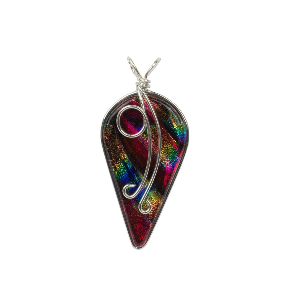 Nickel Free Necklaces - Ivy Pendant - Rainbow Red | Nonickel.com