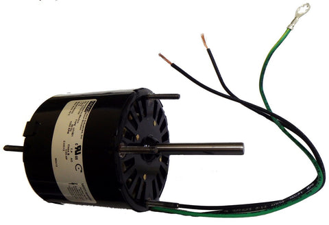 "3.3"" Vent Motor; 1/25 HP, 1550 RPM, CW, OAO"