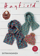 Hayfield Bonus Extravaganza Super Chunky Pattern 8172 - Accessories