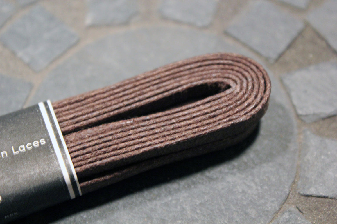 "54"" Wide Flat Waxed Boot Laces"
